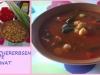 Paprika-Kichererbsen-Suppe mit Spinat (Heike B.)