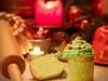 Cupcakes 4th July (Weihnachtsoptik)