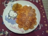 Lebkuchenwaffeln mit Apfel-Zimt-Kompott