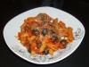 Penne mit Zwiebel-Tomaten-Confit und Oliven (von Charly Ko)