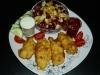 Knusper-Hähnchen-Spieße & Mais-Bohnen-Salat mit Feta (von Charly Ko)