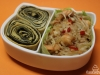 Bentô #2: Garnelen im Salatschälchen und Tamagoyaki