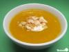 Cremige Kürbissuppe mit Ingwer