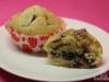 Erntedank-Muffins mit Cranberrys und Orange