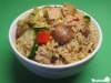 Gebratener Reis mit Tofu und Sesam