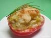 Gefüllte Paprika mit Käse überbacken