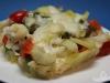Gemüseauflauf mit Ziegenkäse