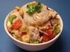 Glasnudelsalat mit Hähnchen und Erdnuss