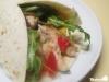Hähnchenwraps mit Currymayonnaise