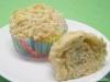 Käse-Schnittlauch-Muffins mit Käsekruste