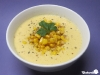 Kalte Mais-Cashew-Suppe