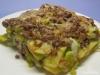 Kartoffelauflauf mit Hackfleisch und Lauch