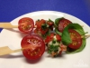 Marinierte Kirschtomaten-Mozzarella-Spieße
