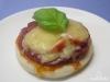 Mini-Pizza Salami