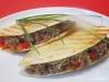 Mini-Quesadillas mit Hackfleischfüllung