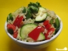 Paprika-Zucchini-Pfanne mit Reis