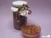 Rhababer-Apfel-Konfitüre mit Walnüssen