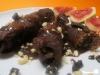 Rinderrouladen mit Schokoladensauce