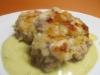 Rote-Linsen-Frikadellen mit Currysauce
