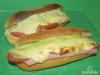 Schinken-Sandwich mit Avocado-Aioli
