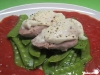 Schweinemedaillons mit Mozzarella
