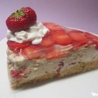 Erdbeer-Cappuccino-Torte