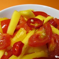 Mango-Tomaten-Salat