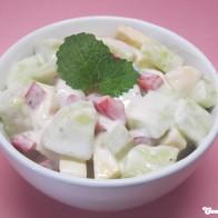 Gurken-Apfel-Salat