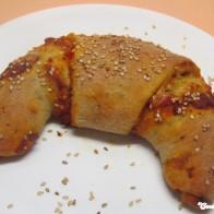 Pizza-Croissants