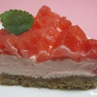 Wassermelonen-Käsekuchen