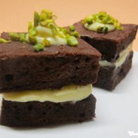 Brownies mit Buttercreme