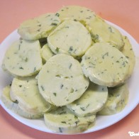 Wasabi-Zitronen-Kräuterbutter