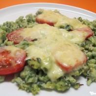 Mozzarella-Spinat-Spätzle