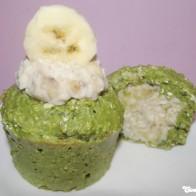 Matcha-Bananen-Küchlein