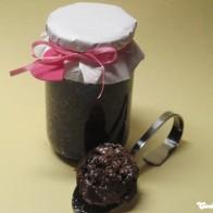 Schokoladenkuchen aus dem Glas