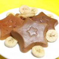 Mini-Bananen-Pancakes mit Ahornbutter