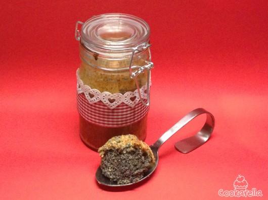 schoko mohn kuchen aus dem glas cookarella rezepte kreatives kochen und mehr. Black Bedroom Furniture Sets. Home Design Ideas