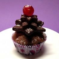 Tannenbäumchen-Muffins